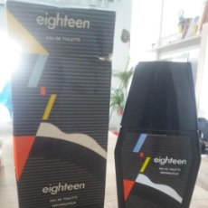 Miniaturas de perfumes antiguos: COLONIA EIGHTEEN. Lote 170730825