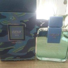 Miniaturas de perfumes antiguos: COLONIA AZUR DE PUIG 200ML. Lote 170806735