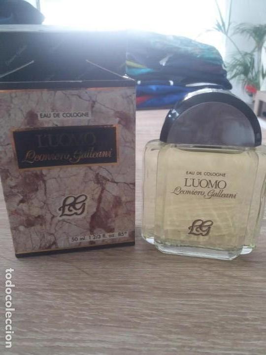 COLONIA LUOMO (Coleccionismo - Miniaturas de Perfumes)