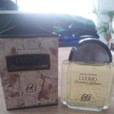Miniaturas de perfumes antiguos: COLONIA LUOMO. Lote 170818300