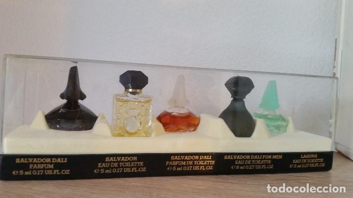 MAGNIFICA COLECION DE MINIATURAS DE PERFUMES SELADOSALVADOR DALI PARIS.NEW DALLI COLLECTION (Coleccionismo - Miniaturas de Perfumes)