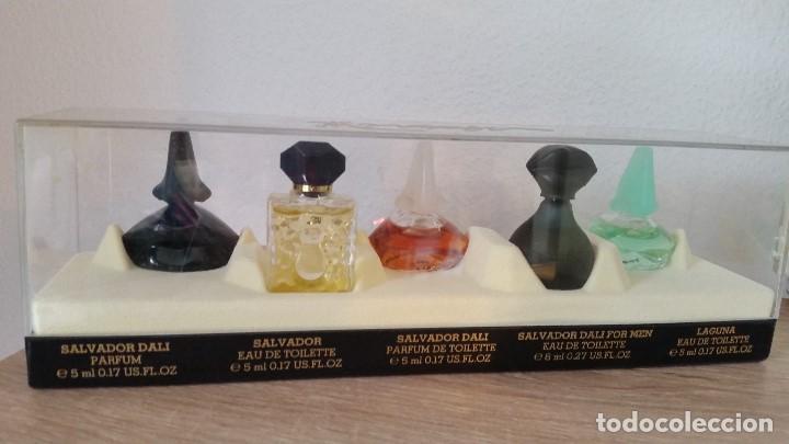 Miniaturas de perfumes antiguos: MAGNIFICA COLECION DE MINIATURAS DE PERFUMES SELADOSALVADOR DALI PARIS.NEW DALLI COLLECTION - Foto 3 - 170883700