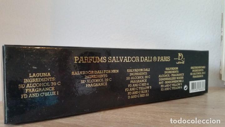 Miniaturas de perfumes antiguos: MAGNIFICA COLECION DE MINIATURAS DE PERFUMES SELADOSALVADOR DALI PARIS.NEW DALLI COLLECTION - Foto 9 - 170883700