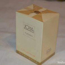 Miniaturas de perfumes antiguos: ANTIGUO FRASCO COLONIA - JOYA MYRURGIA - NUEVA Y EN CAJA - MADE IN SPAIN - ¡¡¡PRECINTADA!!! PERFECTA. Lote 171097685