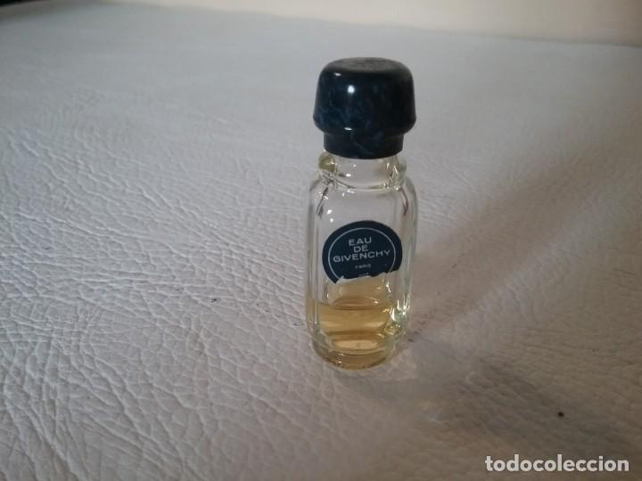 MINIATURA FRASCO PERFUME EAU DE GIVENCHY (Coleccionismo - Miniaturas de Perfumes)