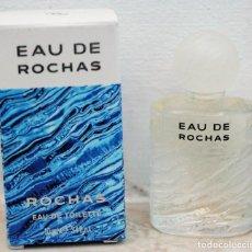 Miniaturas de perfumes antiguos: EAU DE ROCHAS EAU DE TOILETTE - MINIATURA DE 10 ML. Lote 171678645