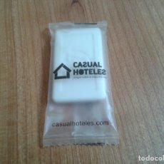 Miniaturas de perfumes antiguos: PASTILLA DE JABÓN -- SOAP -- HOTEL. Lote 172936660