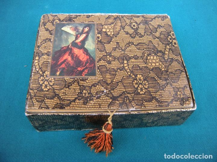 Miniaturas de perfumes antiguos: ESTUCHE COLONIA Y JABÓN MAJA MYRURGIA - Foto 5 - 173210998