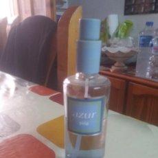 Miniaturas de perfumes antiguos: COLONIA AZUR DE PUIG. Lote 173914473