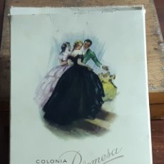 Miniaturas de perfumes antiguos: COLONIA PROMESA MYRURGIA. Lote 174044029