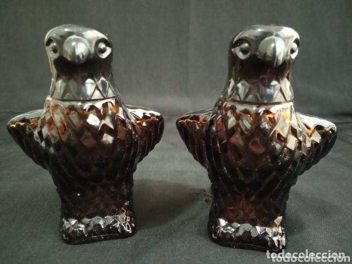 Miniaturas de perfumes antiguos: PAREJA DE BOTELLAS VACÍAS DE PERFUME AVON. AGUILAS DE COLECCIÓN.MUY DIFÍCILES DE ENCONTRAR. - Foto 3 - 174053642