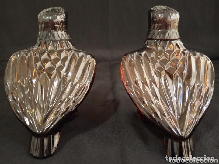 Miniaturas de perfumes antiguos: PAREJA DE BOTELLAS VACÍAS DE PERFUME AVON. AGUILAS DE COLECCIÓN.MUY DIFÍCILES DE ENCONTRAR. - Foto 4 - 174053642
