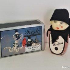 Miniaturas de perfumes antiguos: MINIATURA TRISTO PARFUMS WILD ROSE P 9 ML. Lote 174058539