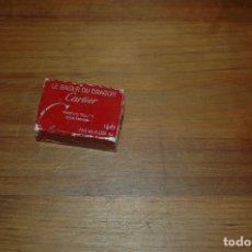 Miniaturas de perfumes antiguos: CARTIER LE BAISER DU DRAGON PARFUM SOLID...USADO `PARA COLECCIONISTAS VER FOTOS . Lote 174222265