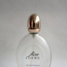 Miniaturas de perfumes antiguos: BOTELLA / FRASCO VACÍO DE AIRE DE LOEWE (EAU DE TOILETTE) SPRAY DE 30 ML.. Lote 175140920