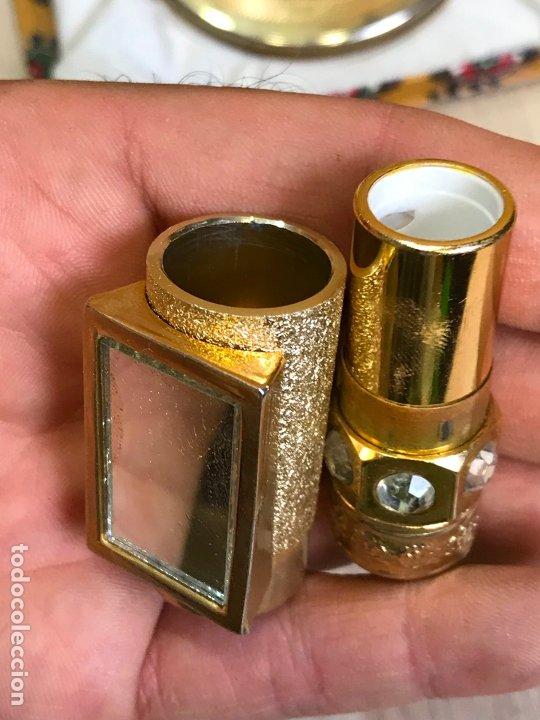 Miniaturas de perfumes antiguos: ANTIGUA CAJA ESTUCHE PERFUMERO Y MAQUILLAJE MYRNA PONS - Foto 2 - 175223139