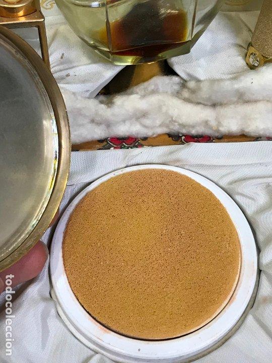 Miniaturas de perfumes antiguos: ANTIGUA CAJA ESTUCHE PERFUMERO Y MAQUILLAJE MYRNA PONS - Foto 6 - 175223139