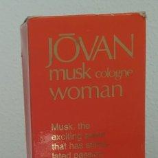 Miniaturas de perfumes antiguos: JÔVAN MUSK COLOGNE WOMAN, 100 ML.. Lote 176190053