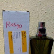Miniaturas de perfumes antiguos: COLONIA RASGO - PUIG. 100 ML VAPORIZADOR.. Lote 176192467