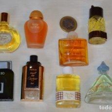 Miniaturas de perfumes antiguos: LOTE 04 - 8 COLONIAS / PERFUMES MINIATURA, VARIADOS Y EN BUEN ESTADO ¡MIRA FOTOS Y DETALLES!. Lote 176634233
