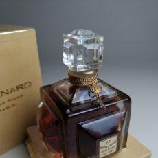 Miniaturas de perfumes antiguos: PERFUME BAISER DU FAUNE, 150 ML.PARFUM EXTRAIT, BACCARAT, 1929, PARÍS, FRANCIA..MOLINARD . Lote 177738093