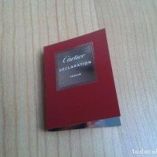 Miniaturas de perfumes antiguos: DÉCLARATION -- CARTIER -- PARFUM -- MINIATURA DE PERFUME -- MUESTRA . Lote 177934718