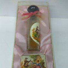Miniaturas de perfumes antiguos: JABÓN Y COLONIA VERA ROSALEDA. Lote 178265100