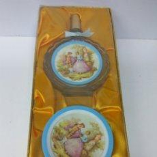 Miniaturas de perfumes antiguos: COLONIA Y PERFUME DE VERA SOIR DE PRINTEMPS. Lote 211594249