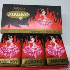 Miniaturas de perfumes antiguos: ESTUCHE PASTILLAS JABÓN MAGICO DE RENAUD GERMAIN-ESPAÑA. Lote 178265621