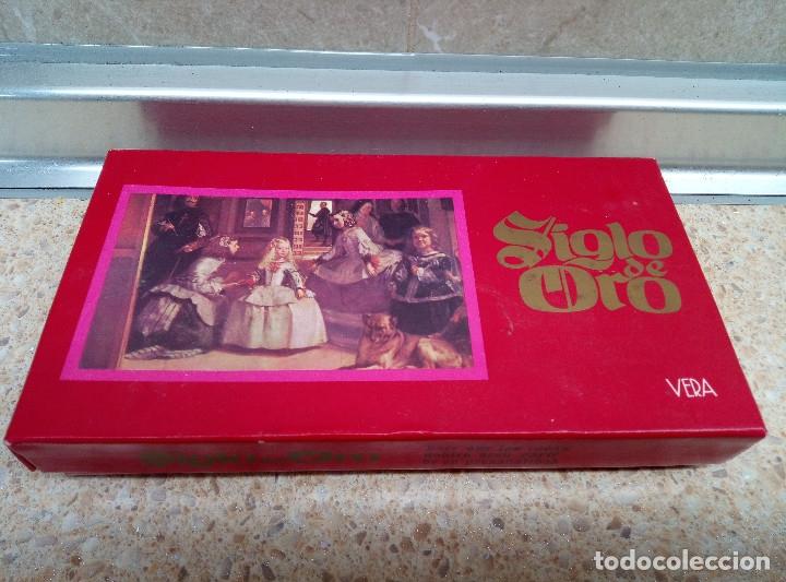 CAJA DE JABON SIGLO DE ORODE VERA CON 3 JABONES VELAZQUEZ * SIN ABRIR * (Coleccionismo - Miniaturas de Perfumes)