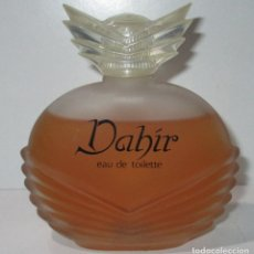 Miniaturas de perfumes antiguos: FRASCO DE COLONIA EAU DE TOILETTE 100 ML. DAHIR, DE PARERA. Lote 178825252
