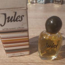 Miniaturas de perfumes antiguos: MINIATURA AFTER SHAVE JULES. Lote 178843405