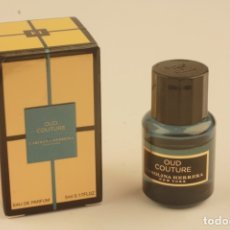 Miniaturas de perfumes antiguos: MINIATURA CAROLINA HERRERA HERRERA CONFIDENTIAL OUD COUTURE EDP 5 ML. Lote 179044278