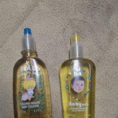 Miniaturas de perfumes antiguos: PACK DE DOS COLONIAS INFANTIL NUEVAS. Lote 179099843