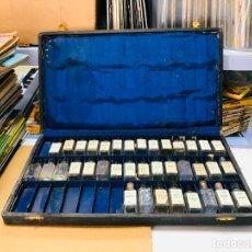 Miniaturas de perfumes antiguos: ANTIGUO ESTUCHE DE MUESTRAS DE PERFUMES DE TASARA. Lote 179553470