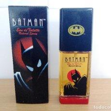 Miniaturas de perfumes antiguos: COLONIA BATMAN 50 ML VAPORIZADOR - EUROPER S.A - A ESTRENAR - WARNER BROS. Lote 180038123