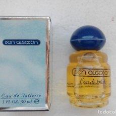 Miniaturas de perfumes antiguos: COLONIA DON ALGODON 30 ML -MYRURGIA - A ESTRENAR. Lote 181742546