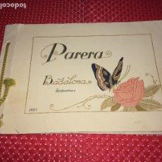 Échantillons de parfums anciens: CATALOGO PERFUMERÍA PARERA - BADALONA - AÑO 1927. Lote 182413486