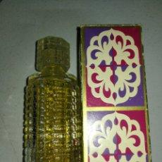 Miniaturas de perfumes antiguos: AVON TOPAZE, BOTE CON SU CAJA. Lote 182685245