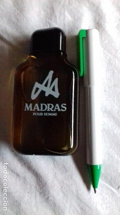 Miniaturas de perfumes antiguos: 1 MADRAS DE MYRURGIA COLONIA HOMBRE 50 ML POUR HOMME AFTER SHAVE DESCATALOGADO no tiene caja - Foto 3 - 165579836