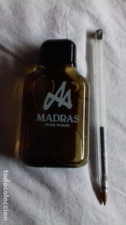 Miniaturas de perfumes antiguos: 1 MADRAS DE MYRURGIA COLONIA HOMBRE 50 ML POUR HOMME AFTER SHAVE DESCATALOGADO no tiene caja - Foto 4 - 165579836