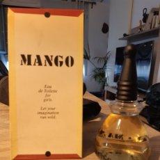Miniaturas de perfumes antiguos: COLONIA MANGO 200ML. Lote 182968586