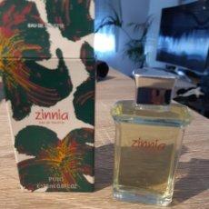 Miniaturas de perfumes antiguos: COLONIA ZINNIA. Lote 182969382