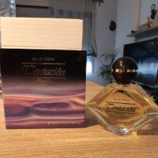 Miniaturas de perfumes antiguos: COLONIA TENTACION. Lote 182970582