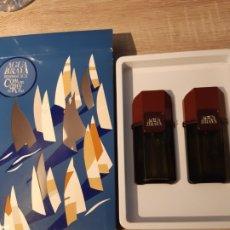 Miniaturas de perfumes antiguos: SET VINTAGE AGUA BRAVA. Lote 182970860