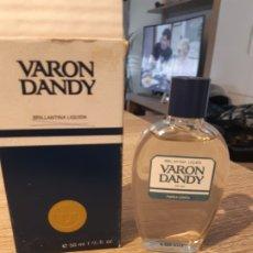 Miniaturas de perfumes antiguos: BRILLANTINA VARON DANDY. Lote 182975883