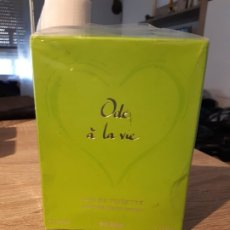 Miniaturas de perfumes antiguos: COLONIA ODE A LA VIE. Lote 182976716