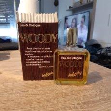 Miniaturas de perfumes antiguos: COLONIA WOODY DE LUCKY. Lote 182977410