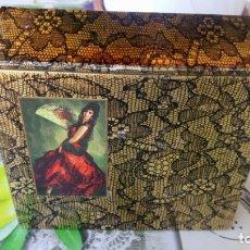 Miniaturas de perfumes antiguos: CAJA VACIA JABON Y COLONIA MAJA DE MYRURGIA. Lote 183205575