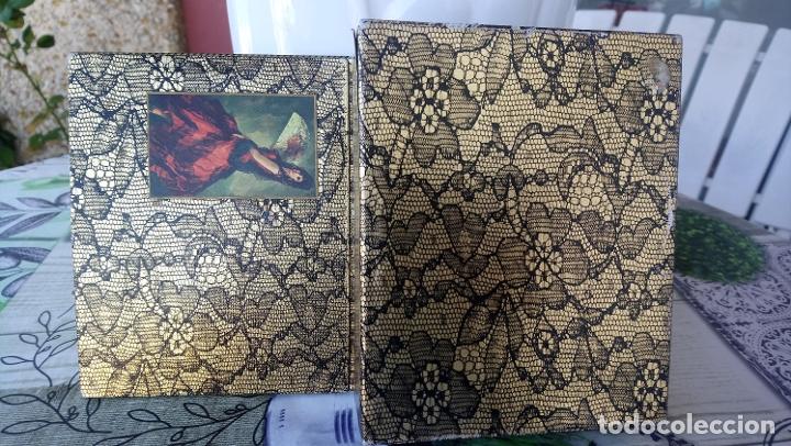 Miniaturas de perfumes antiguos: Caja vacia Jabon y colonia Maja de Myrurgia - Foto 3 - 183205575